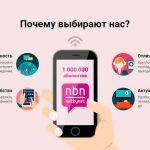 Горячая линия компании Нетбайнет в разных регионах России: